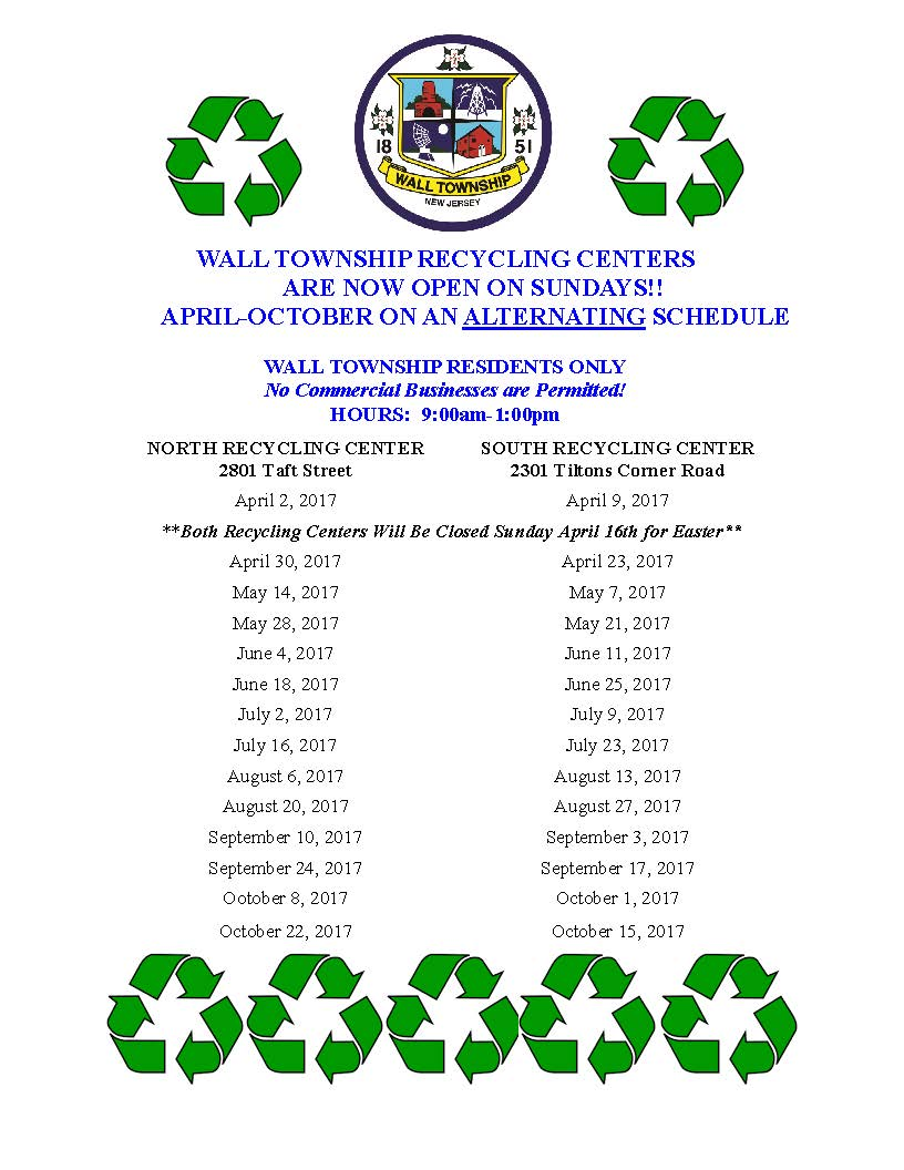 Recycling Center Flyer