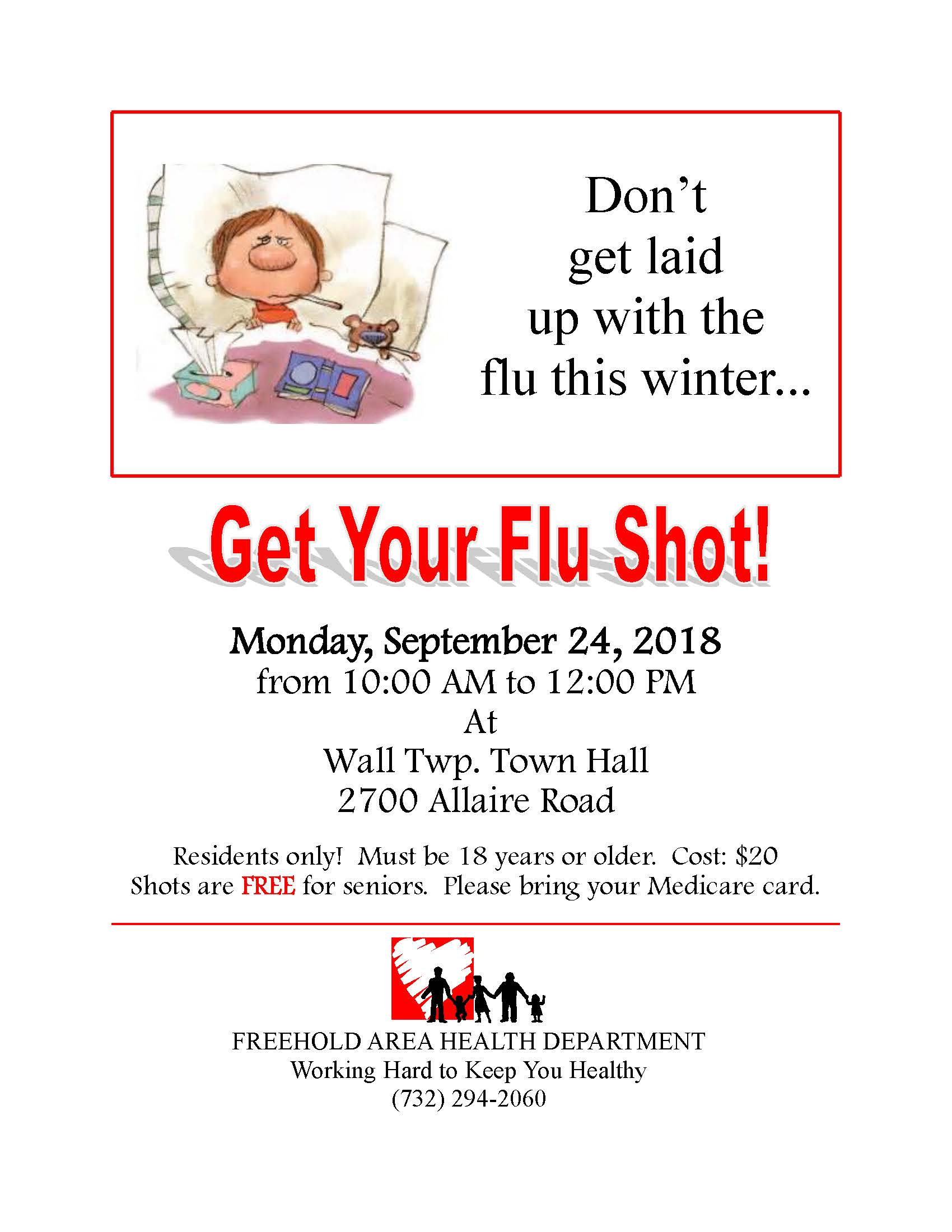 Flu Clinic Flyer 2018