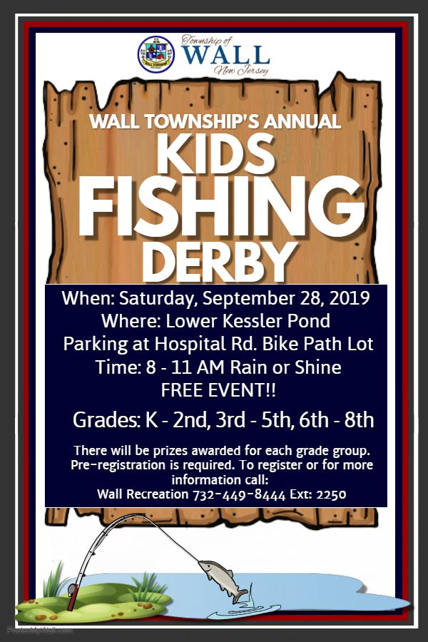Kids Fishing Derby 2019