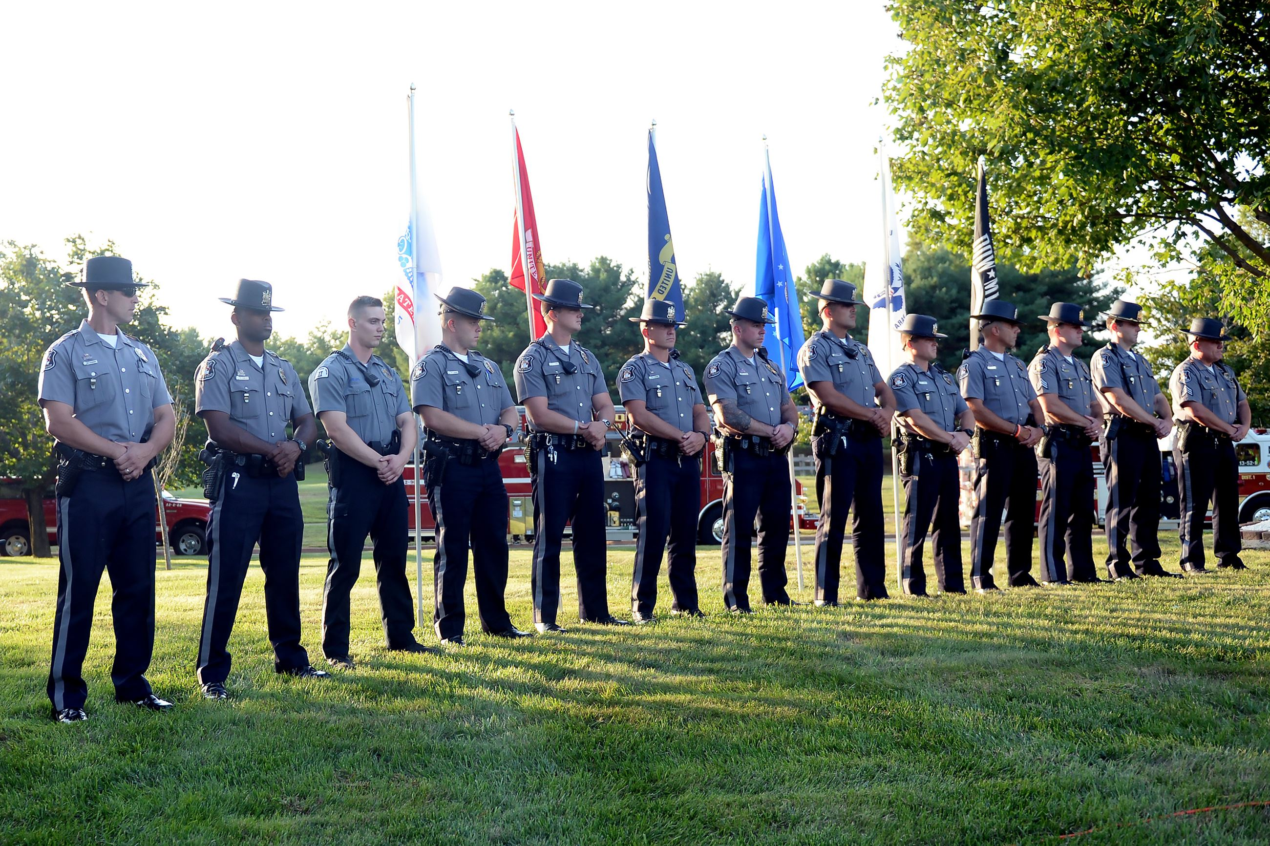 September 11 Service 2019 Wall Police Department