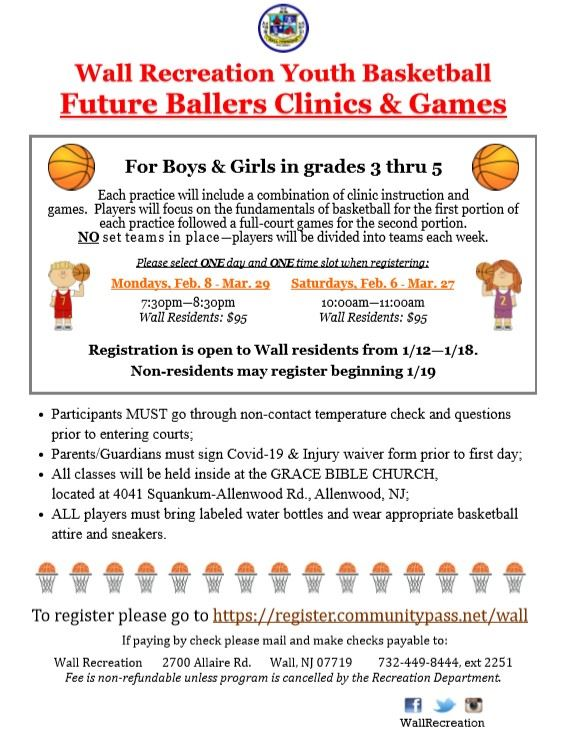 Future Ballers Clinic & Games